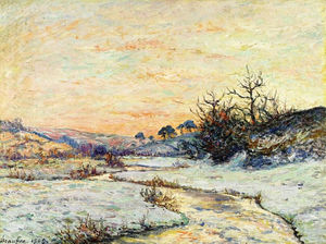 Maxime Emile Louis Maufra - Morning in Winter