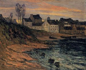 Maxime Emile Louis Maufra - Twilight