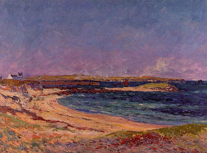 Maxime Emile Louis Maufra - The Portivy Beach