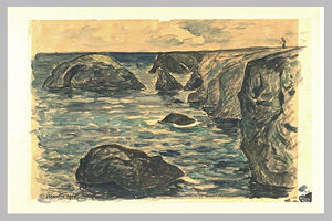 Maxime Emile Louis Maufra - Cliffs of the wild coast