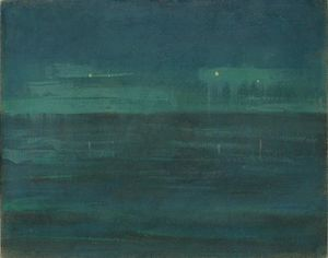 Mikalojus Konstantinas Ciurlionis - Sea at night