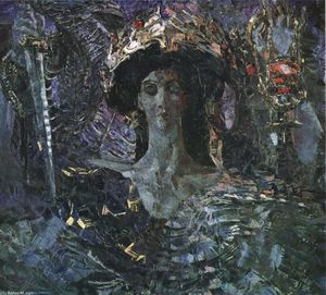 Mikhail Vrubel - The Six Winged Seraph