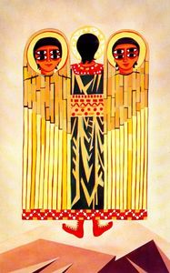 Natalia Goncharova - Liturgy, The Seraph-s costume