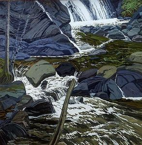 Neil Gavin Welliver - Base of Falls