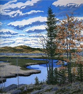 Neil Gavin Welliver - Shadow on Brigg-s Meadow