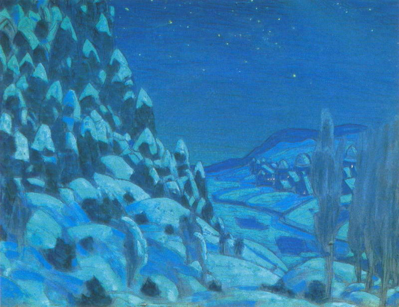 Order Museum Quality Copies | Prologue. Forest., 1908 by Nicholas Roerich (1874-1947, Russia) | WahooArt.com