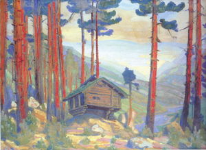 Nicholas Roerich - Solveig-s Song (Hut in the forest)