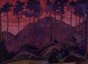 Nicholas Roerich - The Language of the Forest
