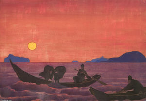 Nicholas Roerich - And we continue fishing