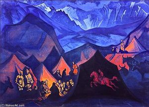 Nicholas Roerich - Whispers of Desert (Story about New Era)