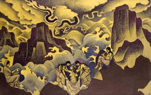 Nicholas Roerich - Ancient Serpent (Serpent of Wisdom)