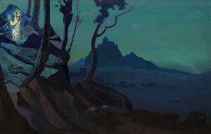 Nicholas Roerich - Chalice of Christ