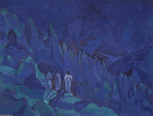 Nicholas Roerich - Burning the Darkness