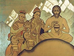 Nicholas Roerich - The Sacred Gift
