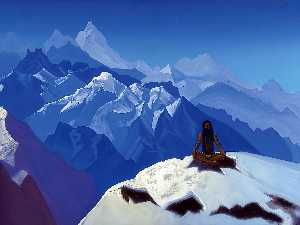 Nicholas Roerich - On the Heights (Tummo)