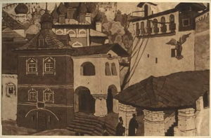 Nicholas Roerich - House of God