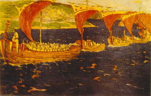 Nicholas Roerich - Scarlet Sails (Overseas guests)