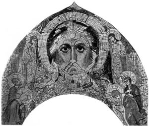 Nicholas Roerich - Saviour Almighty and saints