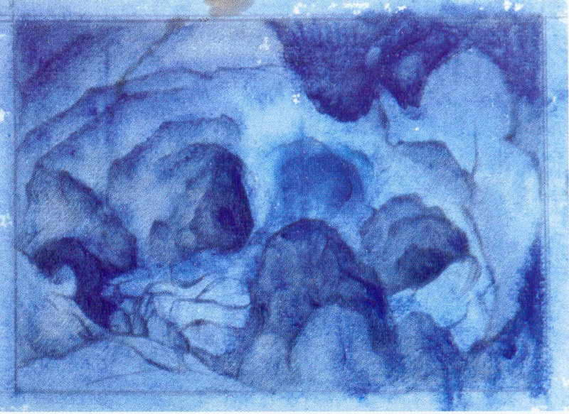 Rond rocks, 1912 by Nicholas Roerich (1874-1947, Russia) | Museum Quality Copies Nicholas Roerich | WahooArt.com