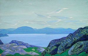 Nicholas Roerich - Messengers of morning