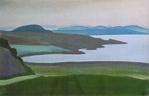 Nicholas Roerich - Lake Ladoga Islands