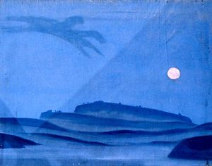 Nicholas Roerich - Night rider