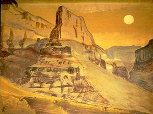 Nicholas Roerich - Grand Canyon