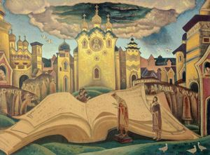 Nicholas Roerich - Book of doves