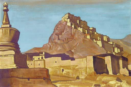Sanctuaries and Citadels, 1925 by Nicholas Roerich (1874-1947, Russia) | Museum Quality Copies Nicholas Roerich | WahooArt.com