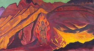 Nicholas Roerich - Guardian of the Entrance