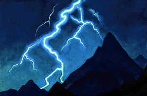 Nicholas Roerich - Call of the Sky