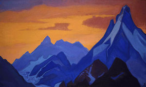 Nicholas Roerich - Evening