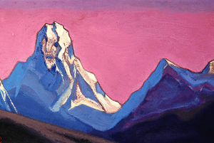 Nicholas Roerich - The giant