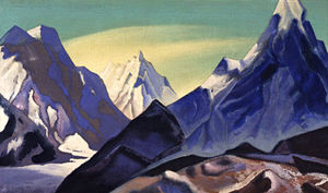 Nicholas Roerich - Central Himalayas