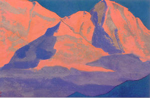 Nicholas Roerich - Study of mountains (9)