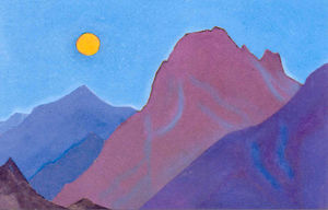 Nicholas Roerich - Study of mountains (11)