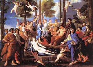 Nicolas Poussin - Apollo and the Muses