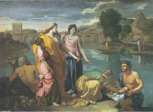 Nicolas Poussin - The Finding of Moses