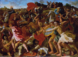 Nicolas Poussin - Victory of Joshua over the Amalekites