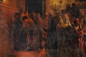 Nikolai Ge - The Judgment of the Sanhedrin