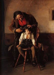 Nikolaos Gyzis - The barber