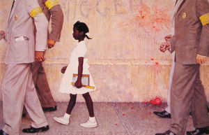 Norman Rockwell - The problem we all live with
