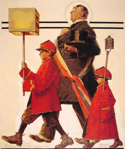 Norman Rockwell - Parade