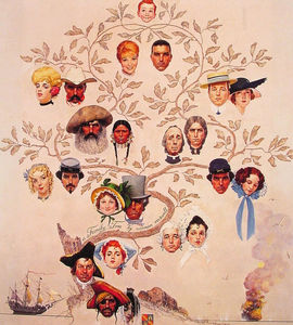 Norman Rockwell - A Family Tree
