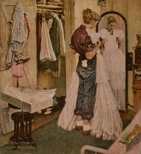 Norman Rockwell - Dress