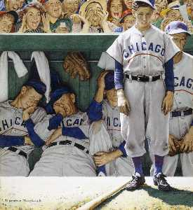 Norman Rockwell - Jeers from Crowd