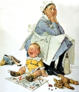 Norman Rockwell - Nanny