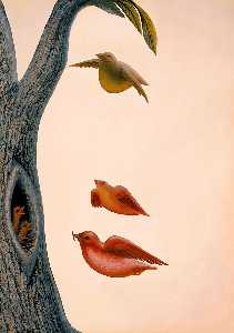 Octavio Ocampo - Family of birds