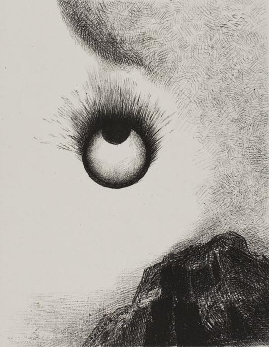 Odilon-Redon-Everywhere-eyeballs-are-aflame.JPG