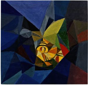 Oleksandr Bogomazov (Alexander Bogomazov) - Abstract Composition